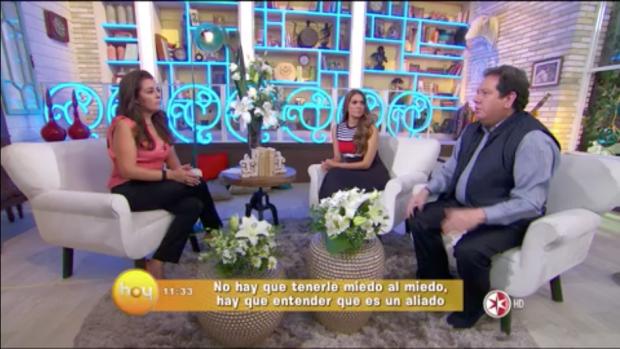 Liliana Martinez en el programa Hoy